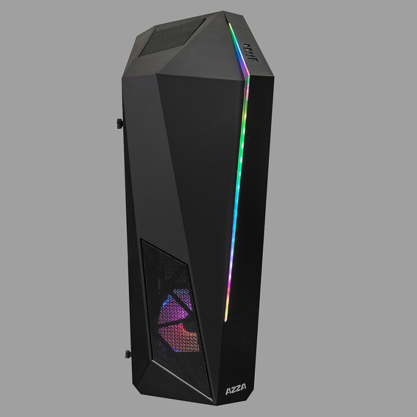 AZZA Thor 320 DH Mid Tower Tempered Glass Digital RGB Gaming Case (Pansonics)