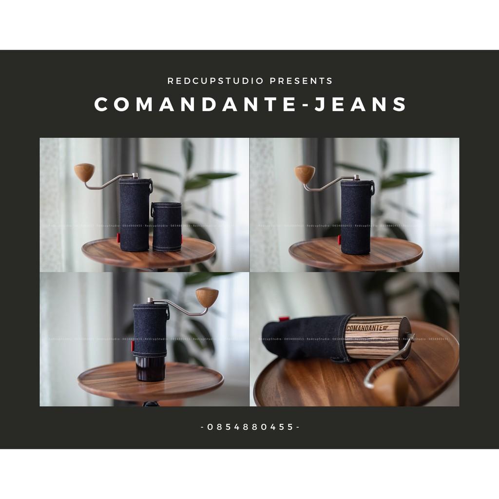 ชุดแต่งเครื่องบดกาแฟ Comandante C40 Coffee Grinder // Sleeve // ปอกหุ้มกันรอย กันกลิ้ง // Jeans Collection