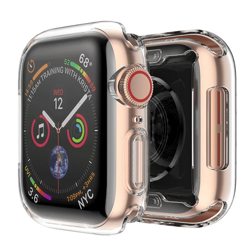 ▪ใช้ได้กับ Apple watch case 4 / 5th generation iwatch3 soft silicone transparent all-inclusive