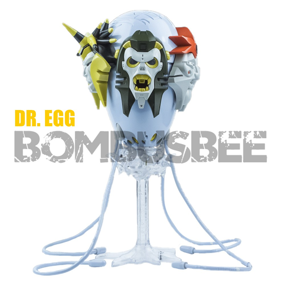 ▼【IN STOCK】Action Figure Toy X Transbots MX 18E Dr.Egg Quintesson  Robot Gift Transformation PVC