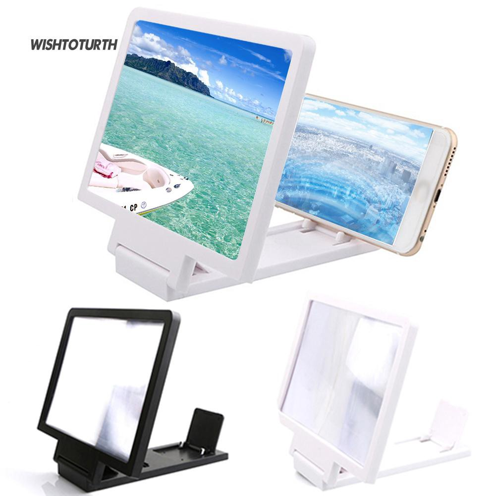 ☼WT Mobile Phone Screen Magnifier Holder Enlarge Cell Phone Display Stand