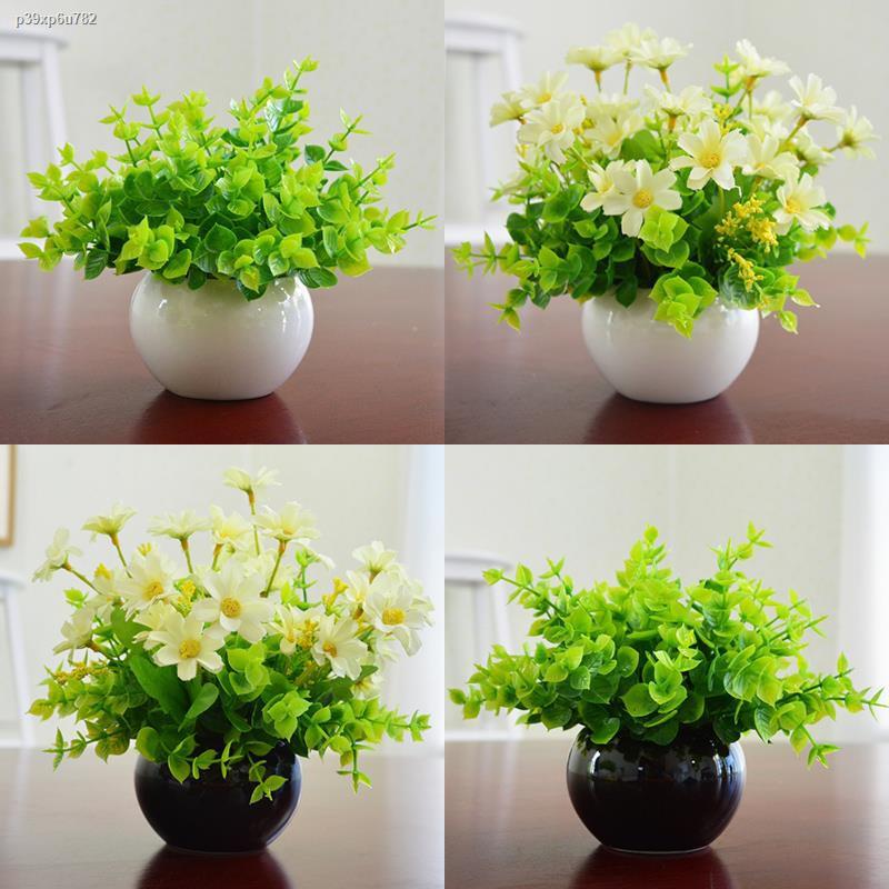 การจำลองพันธุ์ไม้อวบน้ำ۞✣เลียนแบบมิลานดอกไม้ปลอมและพืชประดับที่อยู่อาศัย ห้อง บ้าน โต๊ะกาแฟ ตกแต่ง ช่อดอกไม้พลาสติก ไม้ก