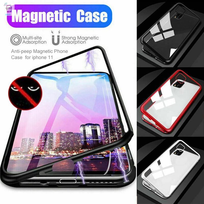 mg เคสโทรศัพท์มือถือแบบสองด้านสําหรับ Iphone 11 Pro Max