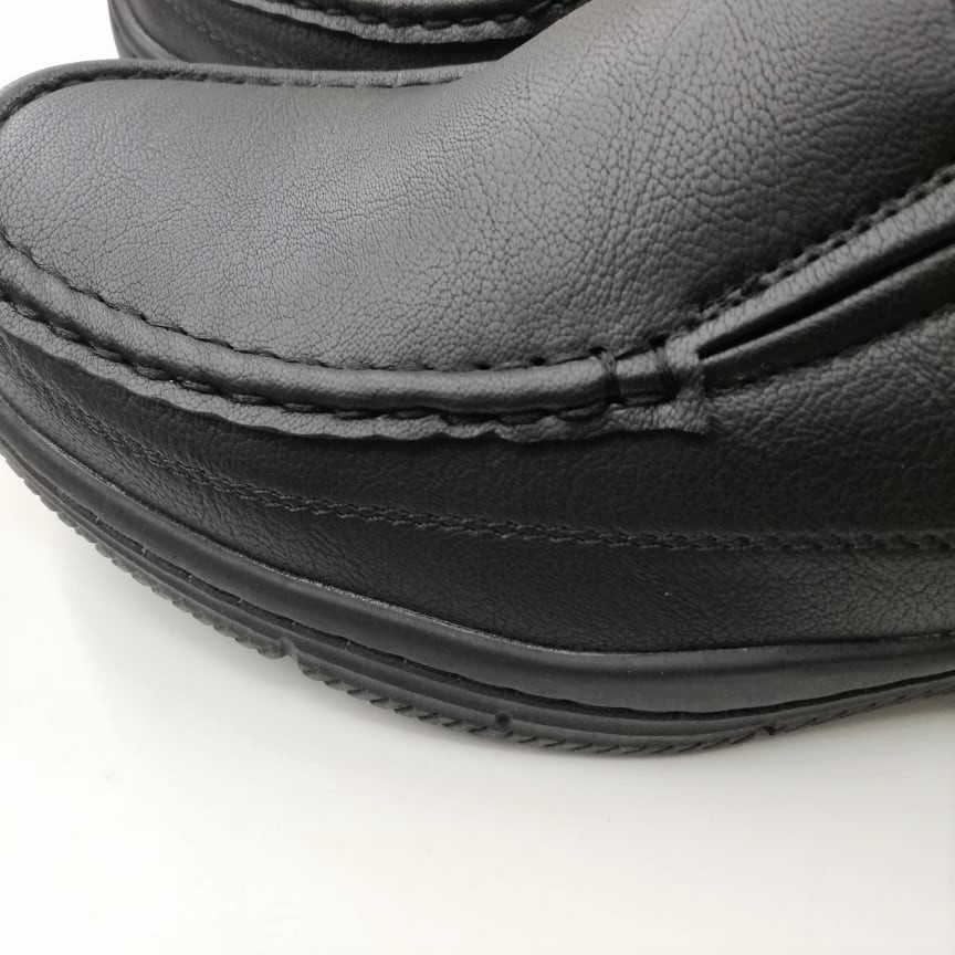 ☂(851-6278) Bata รองเท้าหนังคัชชูผู้ชาย ยี่ห้อบาจา สีดำ เบอร์ 5-11 (38-46) รุ่น 851-6278