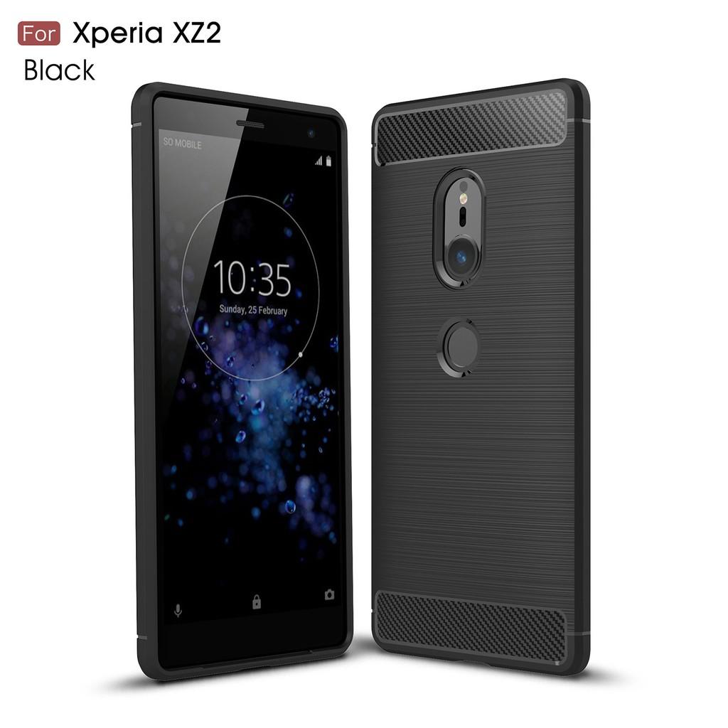 เคสโทรศัพท์คาร์บอนไฟเบอร์ sony xperia xz 2 compact xz2