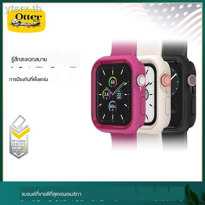 เคสAirPods1/2 Case เคสซิลิโคนอ่อนนุ่มสำหรับAirpods caseotterbox is suitable for applewatch se/6/5 protective shell anti-drop iwatch6/5/4 watch cover 44/40mm Apple Series