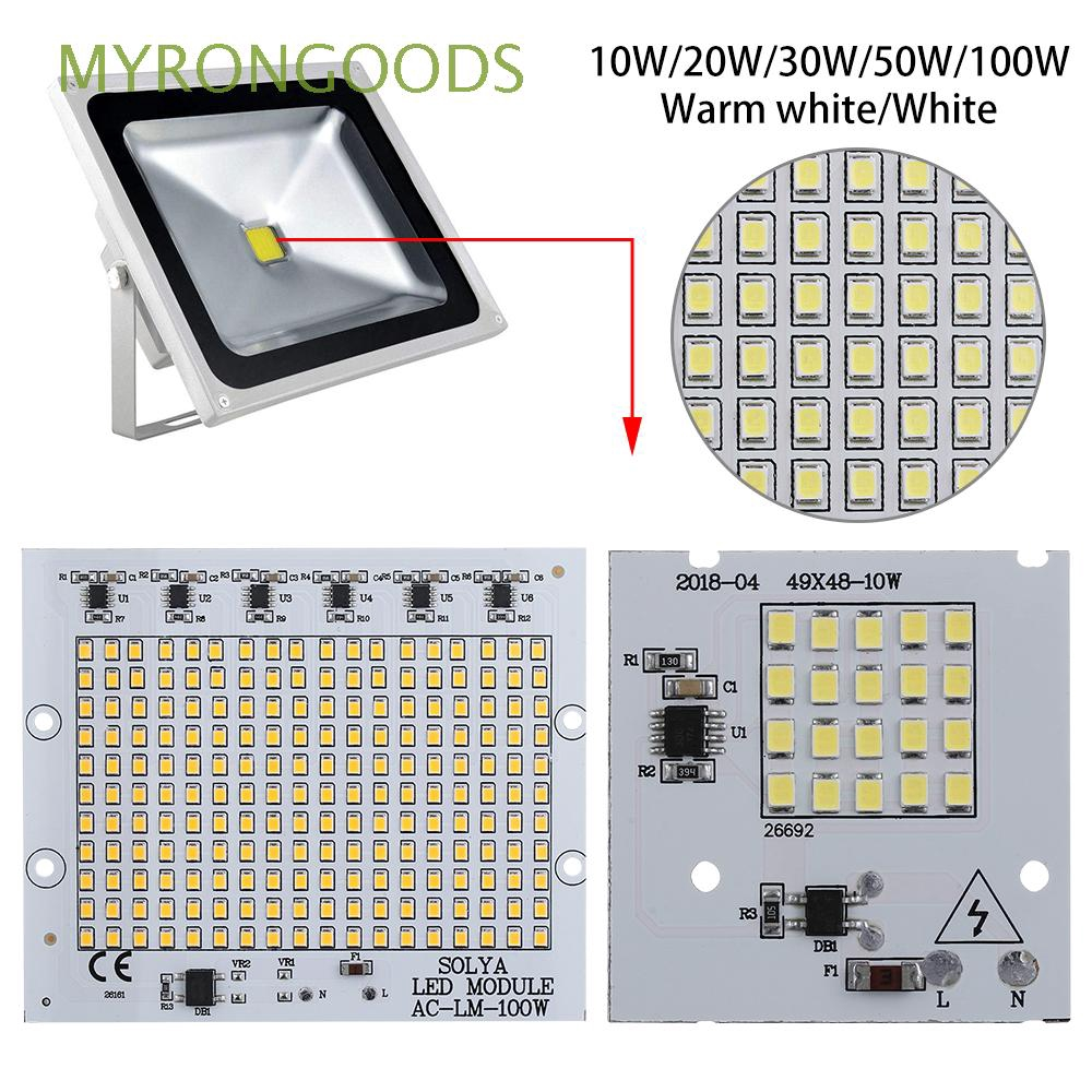 10pcs Cool//Warm White High Power SMD Lamp SMD COB LED Chip Flood Light Bead