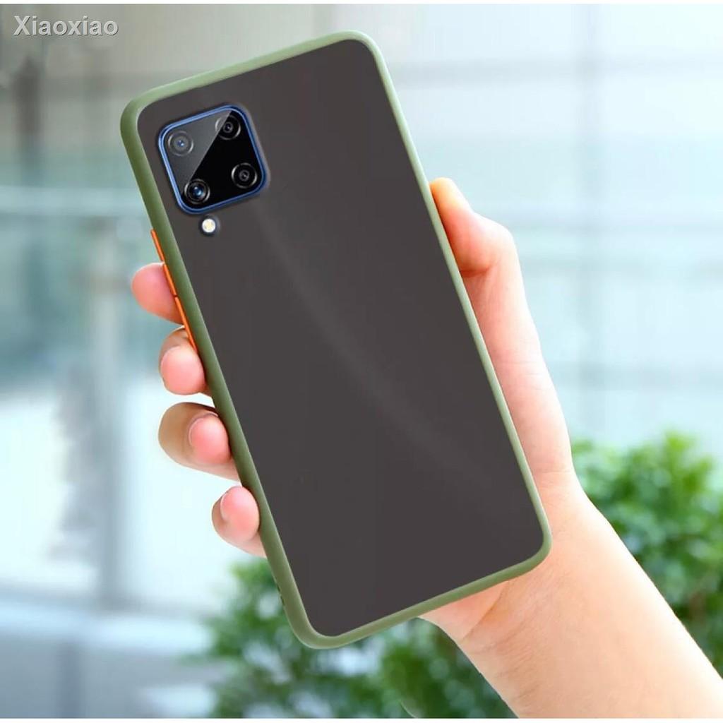 ❤ลดราคา❤۩[ส่งจากไทย]Case Samsung A42 5G เคสกันกระแทก ขอบสีหลังขุ่น เคสโทรศัพท์ ซัมซุง เอ42