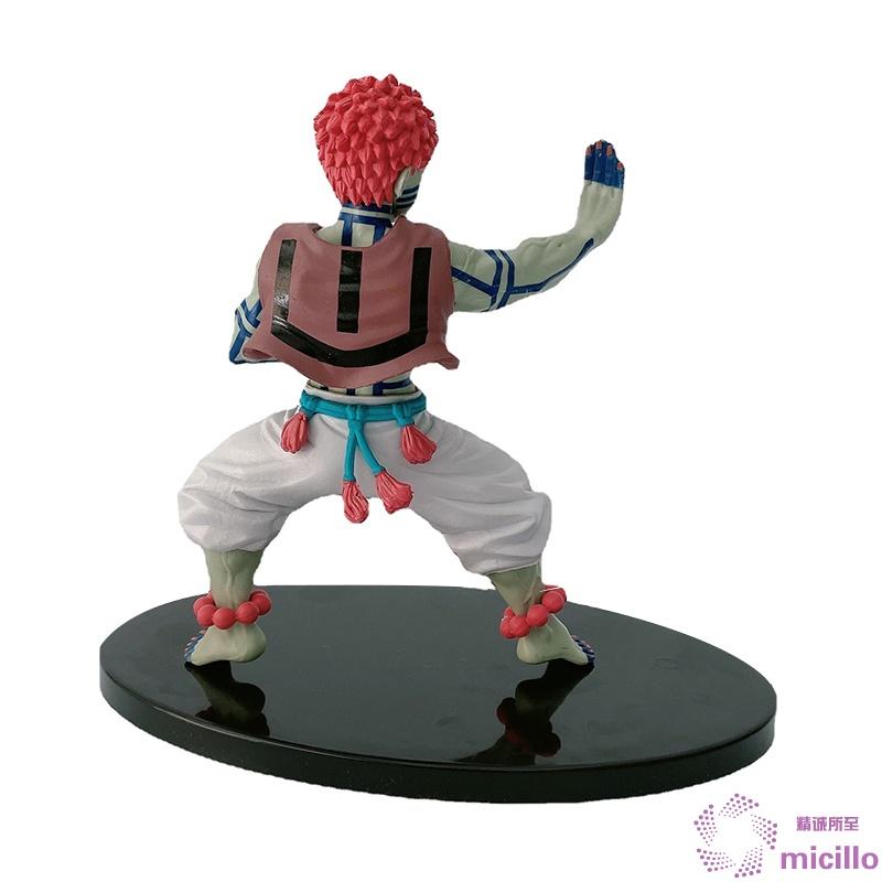 Demon Slayer Figure Toys Akaza Model Ornaments PVC Collectible Anime Action Character Model