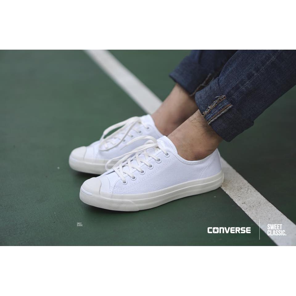 "Converse Courtland ""White-Black   Black-Black""  fd56aac50"