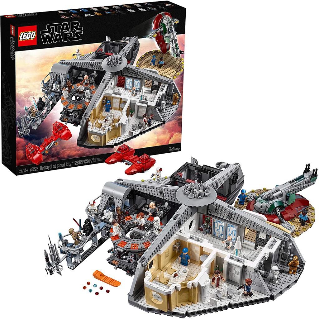 LEGO STAR WARS  PRINCESS LEIA 75222 CLOUD CITY NEW.