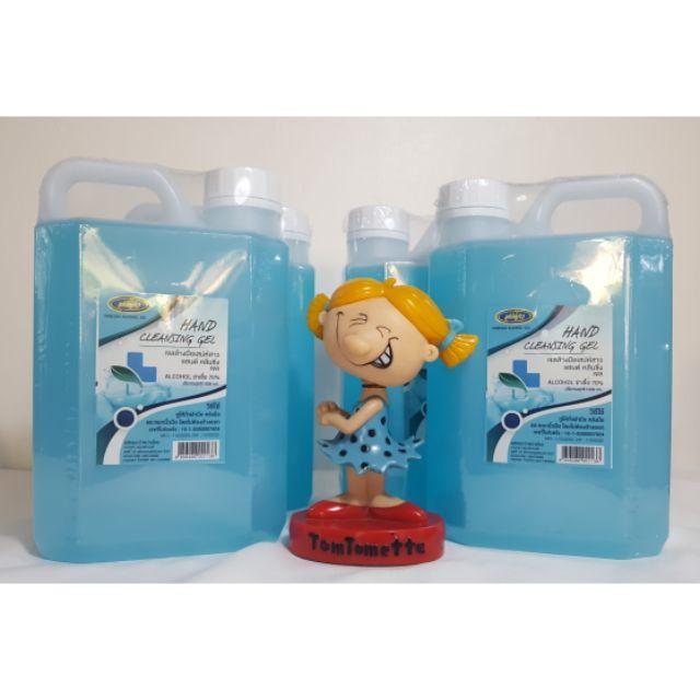 เจลล้างมือแอลกอฮอล์แบบแกลลอน**1000ml**พร้อมส่ง**