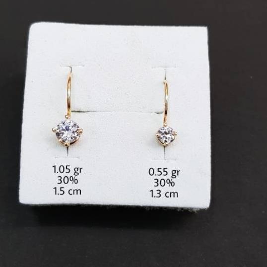 !! E1 - ต่างหูทอง 0.5 กรัม 300 ราคาถูก.,.,.,.,,,