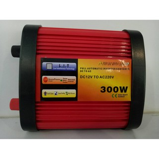 Review Inverter MSW 300W/12V