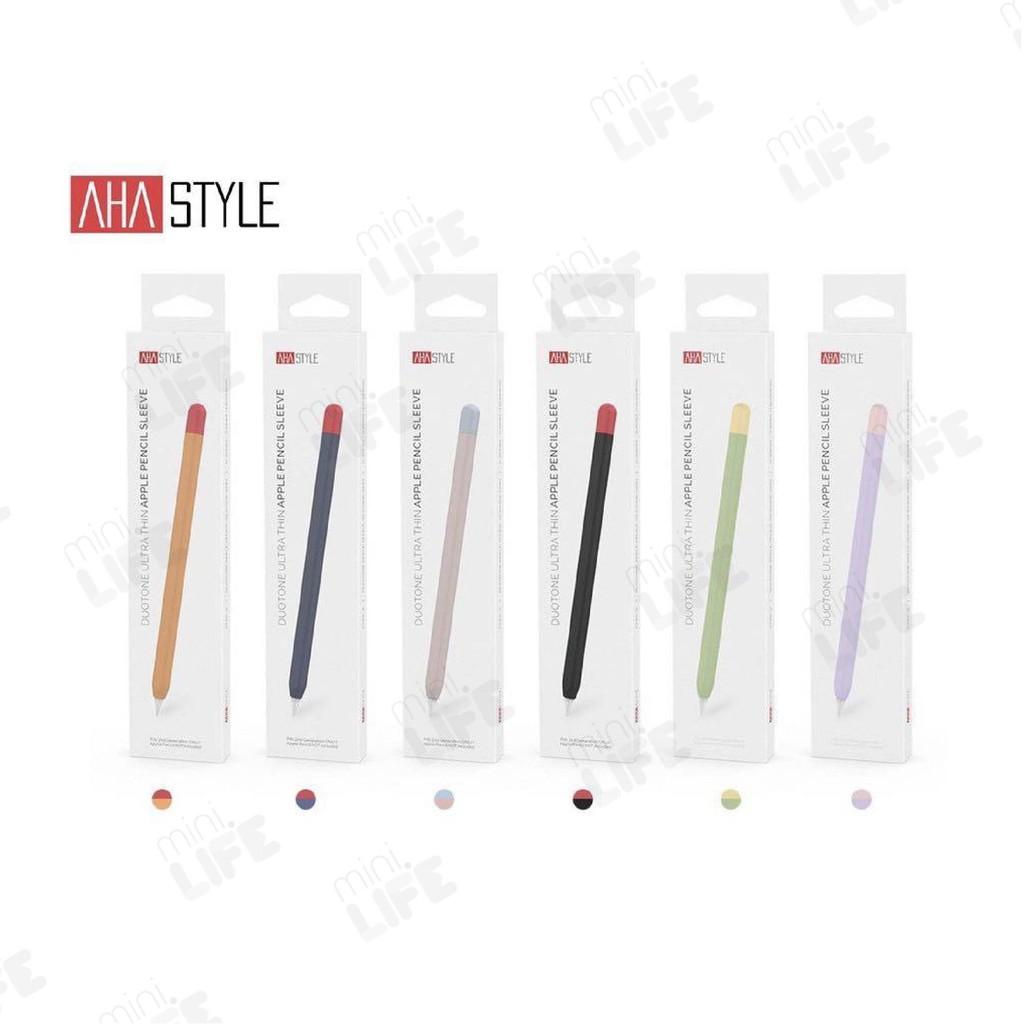 【 พร้อมส่ง 】Case for Apple Pencil 1&2 เคส ปากกา สำหรับ แอปเปิ้ล Pencil ซิลิโคน ปลอก ดินสอ กันลื่น กันรอย กันกระแทก I2Ho