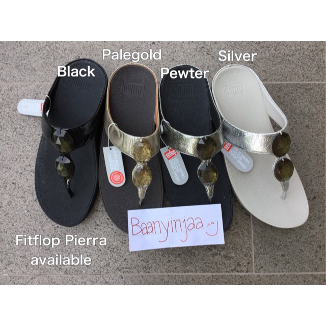 e01610ed23bdb8 Fitflop Pierra   Black us6