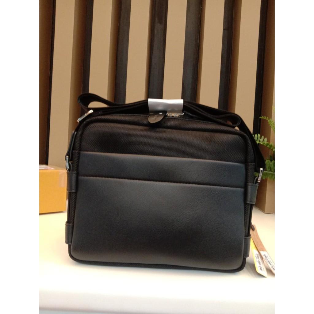 กระเป๋าหนัง❁✶♂PAE กระเป๋าสะพายข้าง  DEVY รุ่น2108-1 สีดำเป้สะพายข้างชายกระเป๋าสะพายข้างชาย