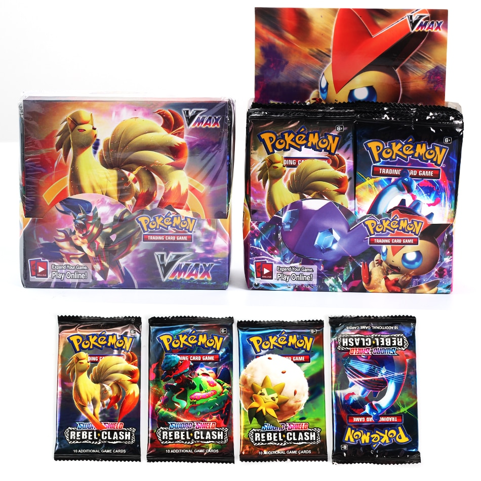 NEW324Pcs Pokemon TCG: Sun & Moon Bonds Booster Box Trading Card Game