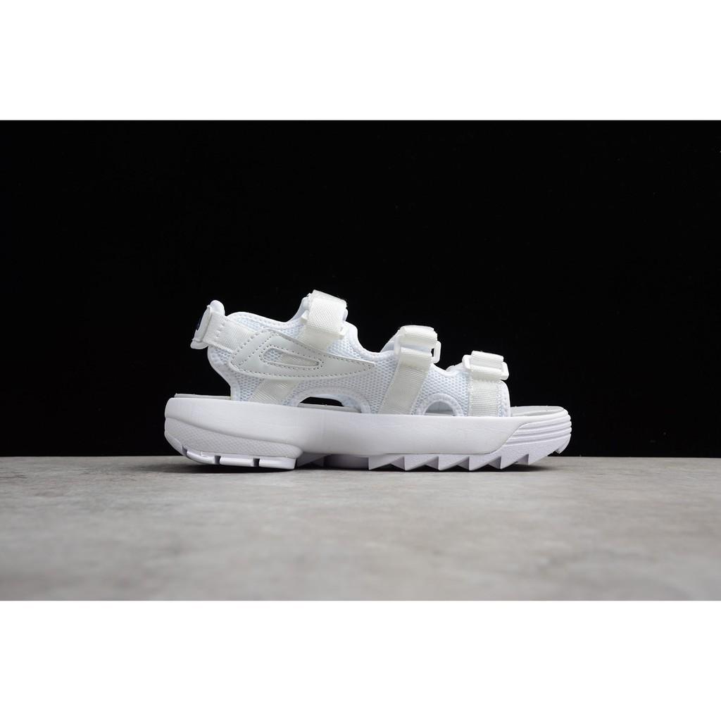 Original FILA Disruptor2 แท้ รองเท้าผู้ชาย รองเท้าผู้หญิง แฟชั่น ไม่เป็นทางการ ชายหาด รองเท้าแตะ