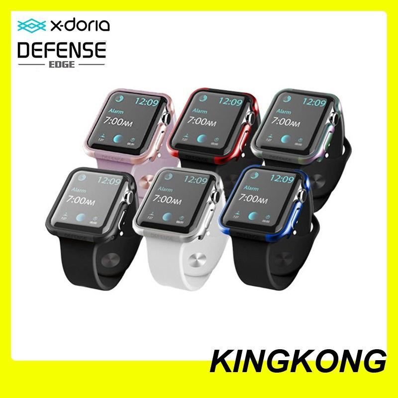 【สไตล์เกาหลี】 【เครื่องประดับ】 X-doria case DEFENSE EDGE Apple Watch 40mm เคส แอปเปิ้ลวอช