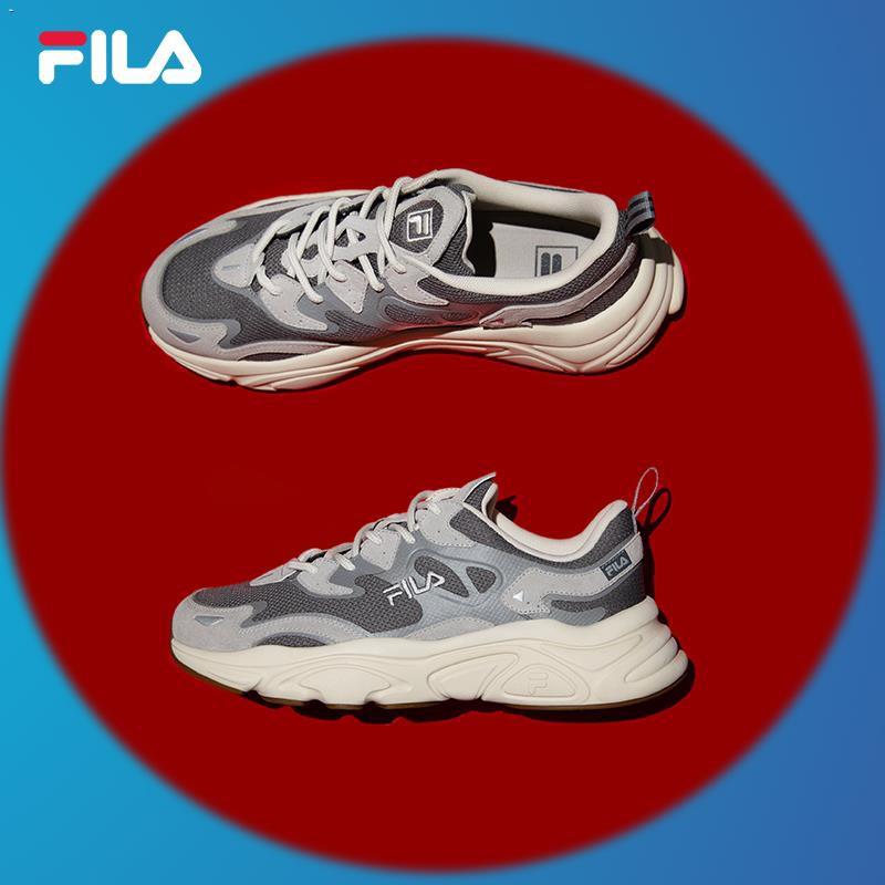 ☋FILA Fila รองเท้าเก่า รองเท้าผู้หญิง รองเท้าผู้ชาย คนรัก รองเท้า Mars 2021 ฤดูร้อน ใหม่ รองเท้าวิ่ง รองเท้ากีฬาผู้หญิง