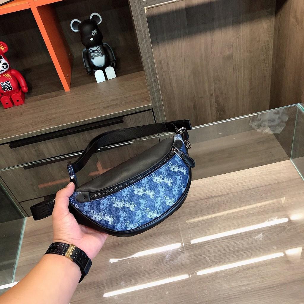 พร้อมส่ง แท้ 🇺🇸💯% New Coach bag กระเป๋าสะพายข้างผู้ชาย กระเป๋าสะพายข้างผู้หญิงข้