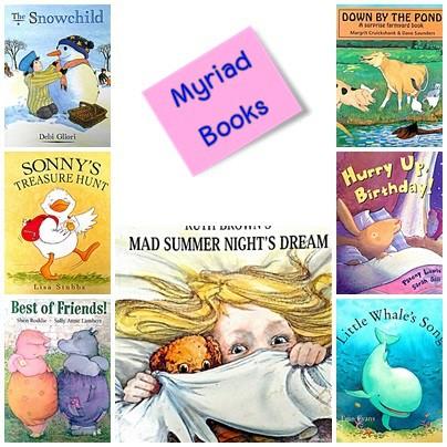 Picture books by Myriad Books หนังสือมือสอง นิทาน ปกอ่อน