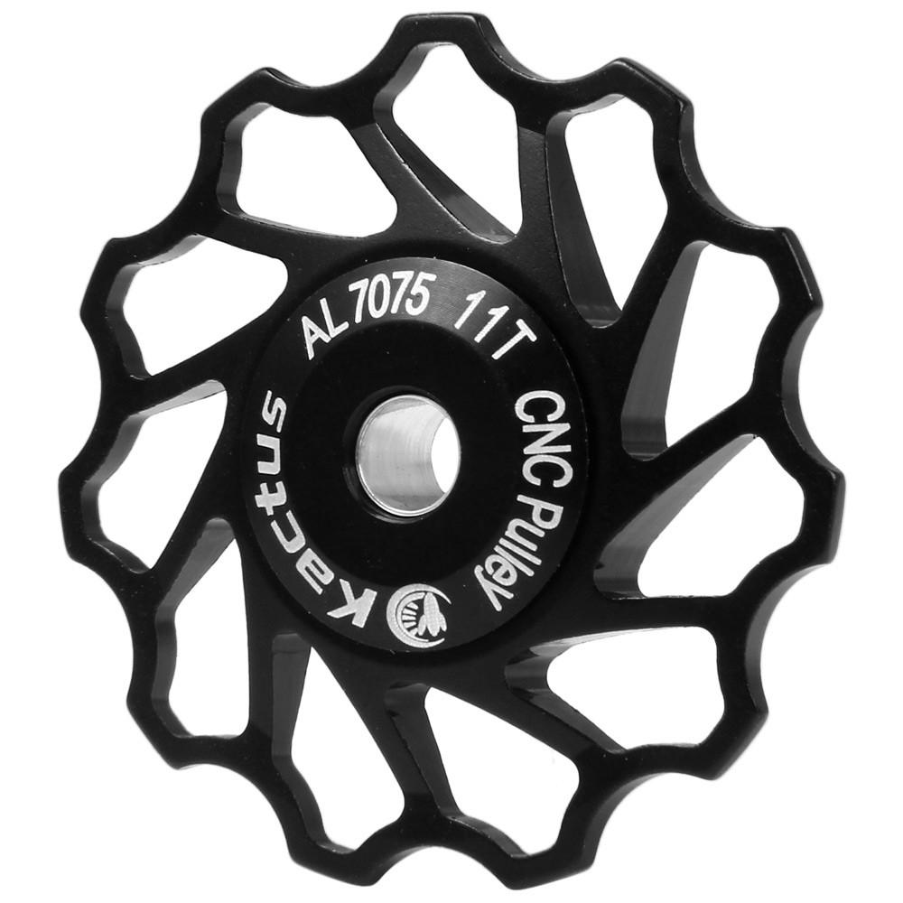 ราคาถูกที่สุด [3C] Kactus Aluminium Alloy 11T Guide Roller Wheel Rear Derailleur Pulley for SHIMANO SRAM / 7 / 8 / 9 / 10 Speed ส่วนลด - เท่านั้น ฿107