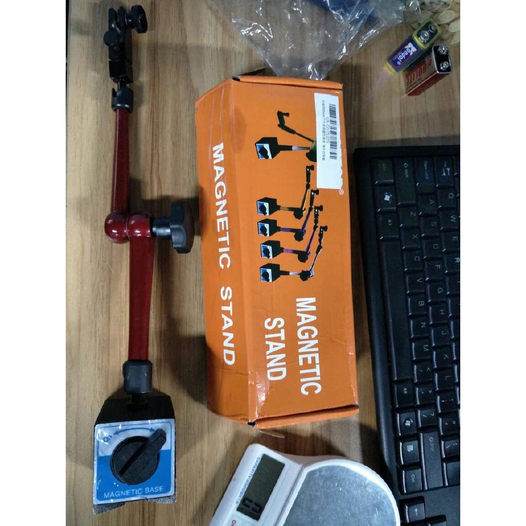 Universal Alloy Holder Bracket Accessories for Digital Dial Indicator Gauge Adjustable Magnetic Base Stand