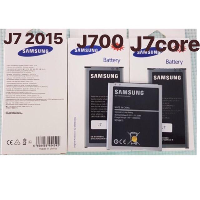 แบต Samsung J7 2015 J7 Core (J700 J701) J710 J7 2016  J4แบตเตอรี่ J7 J710
