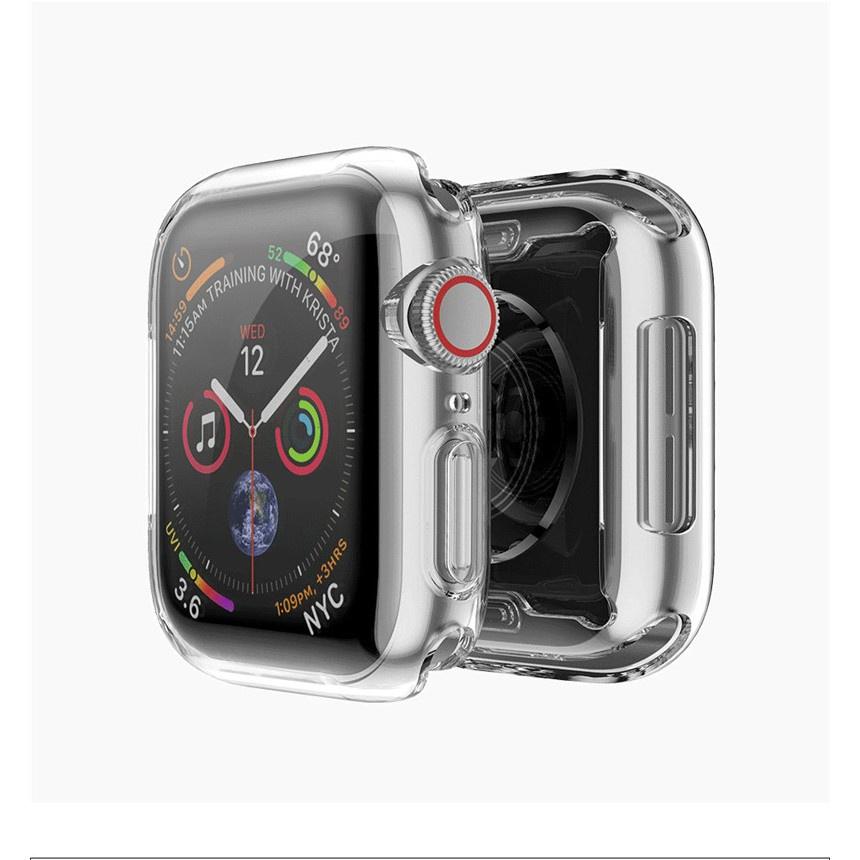 พร้อมส่ง/❏Protector Apple Watch Case 4 3 2 1360 ฝาครอบ Tpu แบบเต็มสำหรับ Iwatch Series 1 38 มม. 42 40 44 Strap 42mm กรณี