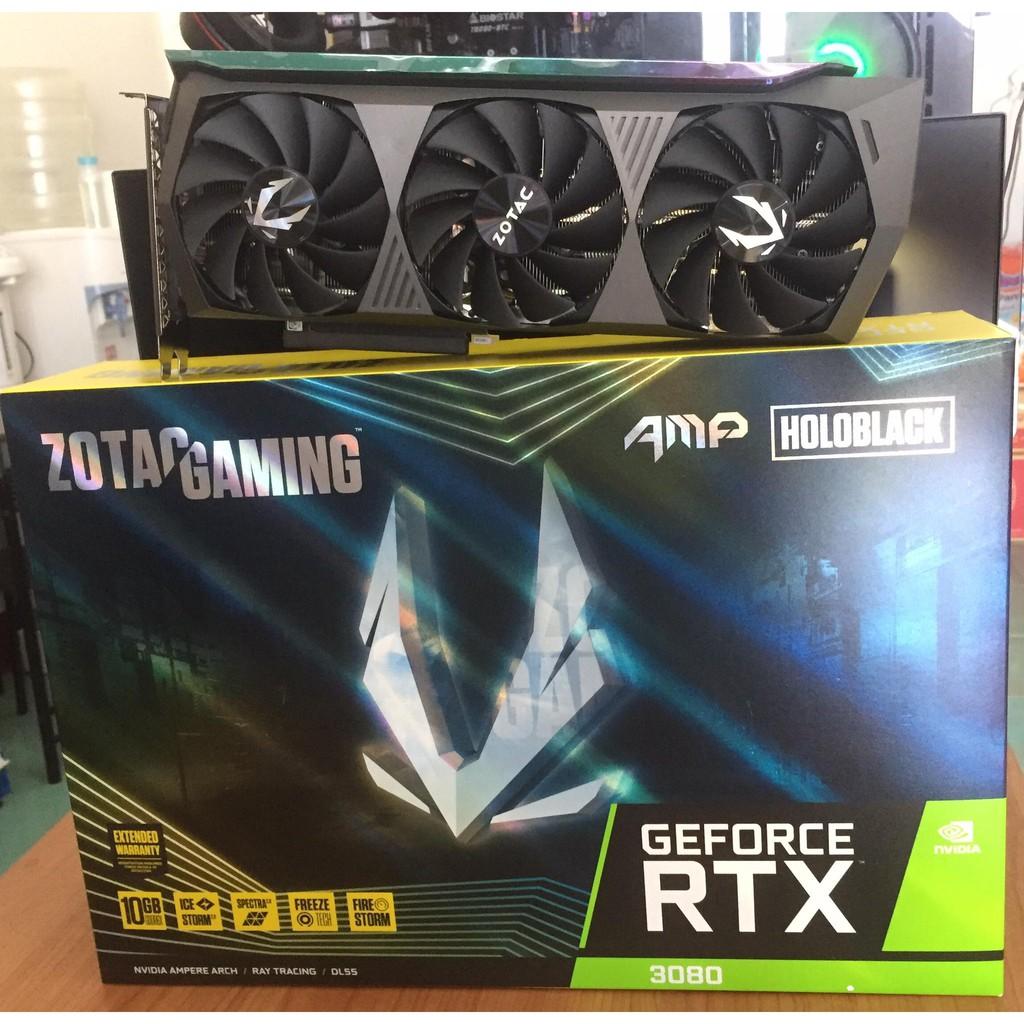 การ์ดจอ ZOTAC GAMING RTX 3080 10 GB