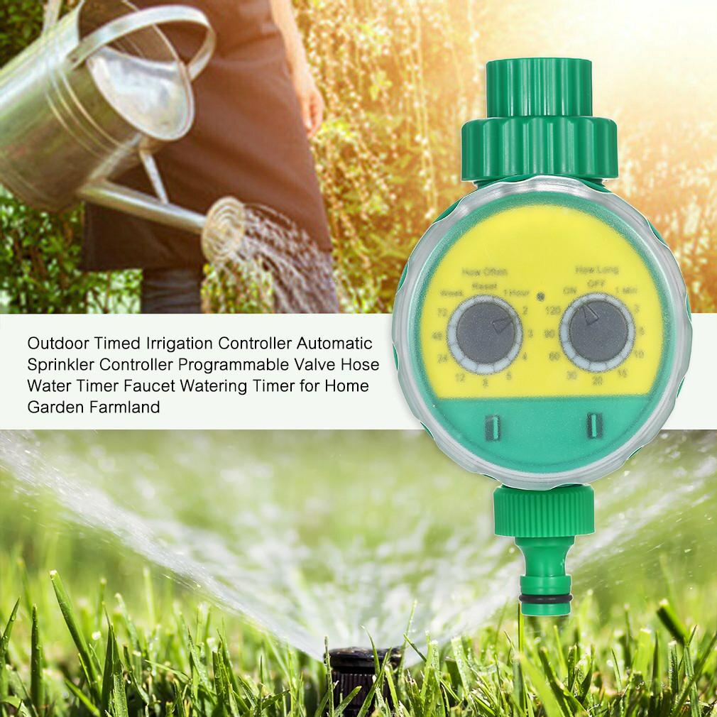 Water timer Digital เครื่องตั้งเวลารดน้ำอัตโนมัติ เครื่องตั้งเวลาสปริงเกอร์ เครื่องรดน้ำอัตโนมัติ ตั้งค่าด้วยระบบดิจิตอล Watering System
