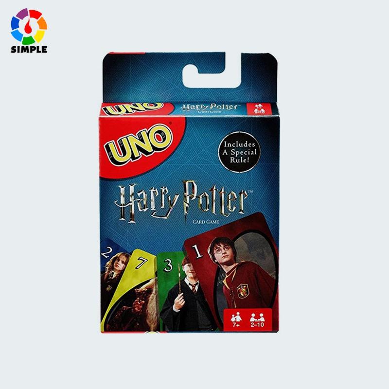การ์ดเกมส์ พ่อมดแม่มด UNO: Harry Potter - Card Game cro4