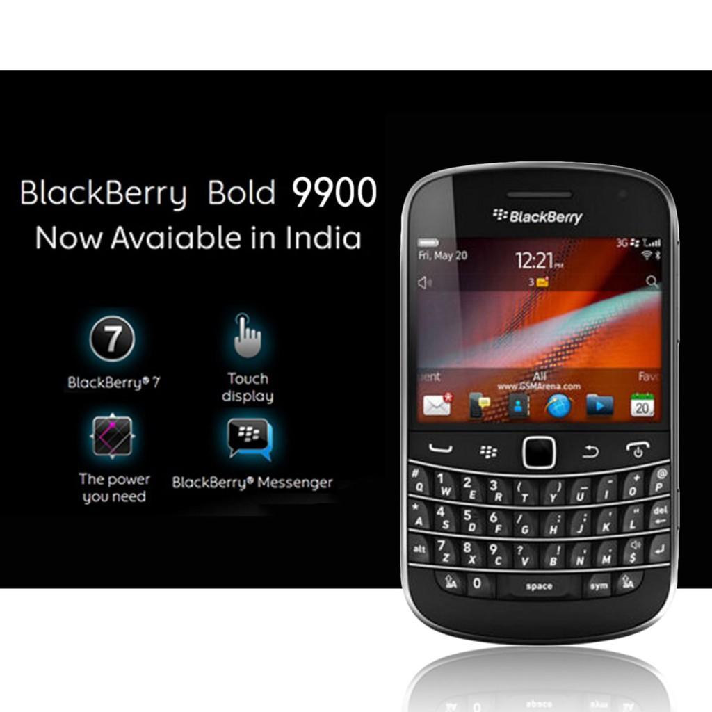 Certicated Refurbished Version BlackBerry Bold 9900 GSM Factory Unlocked  Phone