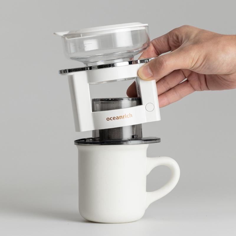 เครื่องชงกาแฟอัตโนมัติเครื่องชงกาแฟอัตโนมัติทำมือ S2 อัพเกรดมือถืออัจฉริยะหมุนได้