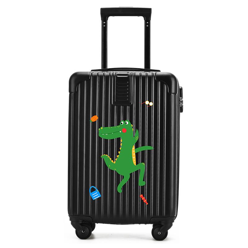 ⅞≩ กระเป๋าเดินทางล้อลากใบเล็ก กระเป๋าเดินทางล้อลากพอลHermes Uldumกระเป๋าเด็ก18นิ้วการ์ตูนขนาดเล็กกรณีรถเข็นกระเป๋าเดินทา