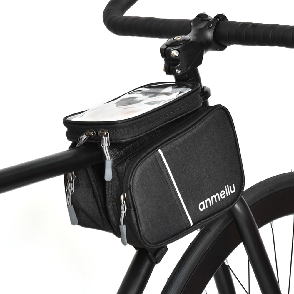 Mountain Road Bike Cycling Bicycle Triangle Bag Large Capacity Storage Pannier