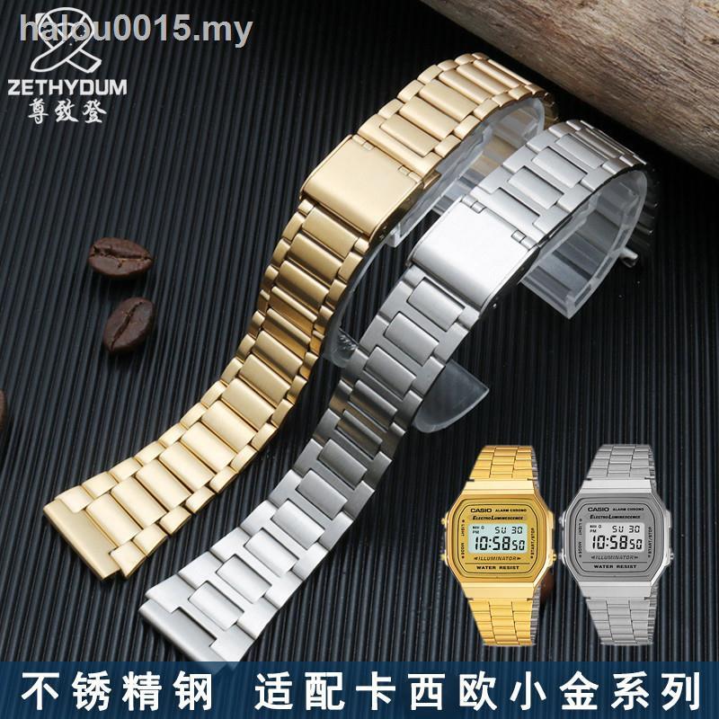 สายนาฬิกาข้อมือสแตนเลส Casio Casioa 168wa - 1w / 9w