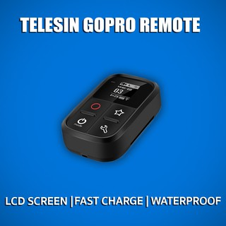 TELEISN รีโหมต GOPRO กันน้ำ Version 2 แบบมีจอ LCD screen Smart Remote for Hero 8 7 6 5 4 session 2020 .Waterproof Remote