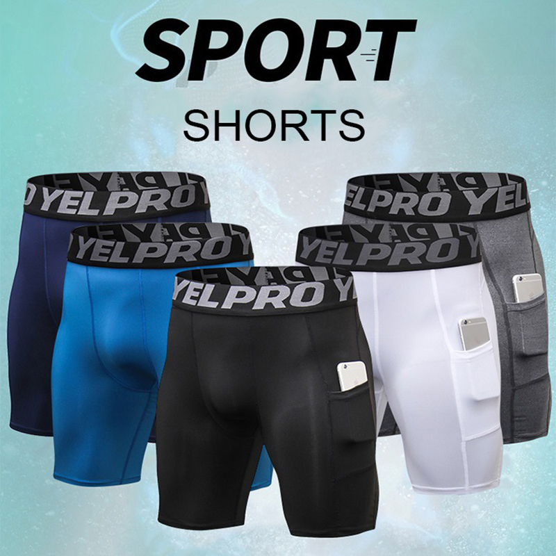 Men's Performance Compression Shorts Baselayer Sports Tights Fitness SGE0005 PsNK