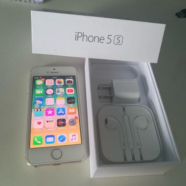 ขาย iphone 5s 32gb เครื่องศูนย์ (มือสอง90%) ไม่ติด icloud