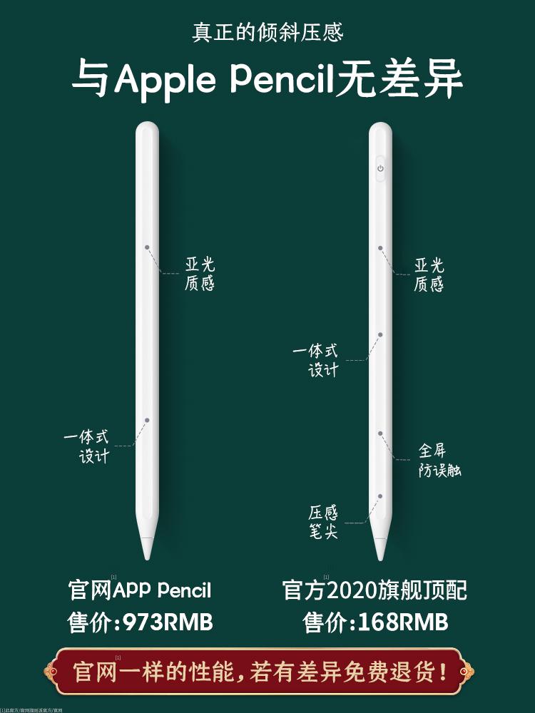 —◕🔥🔥⭐🔥ปากกาลูกลื่น⭐🔥★★★❤🔥🔥ปากกาน้ำเงิน ปากกา Applepencil อย่างเป็นทางการ Apple iPad ปากกาสไตลัสปากกา ipadpencil ปา