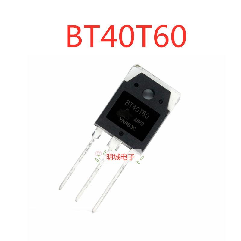 Bt40T60 Bt40T60Anf Bt40T60Anfd Bt40N60Bnf To - 247 40 A600V Igbt 5 ชิ้นสําหรับเชื่อมต่อเครื่อง