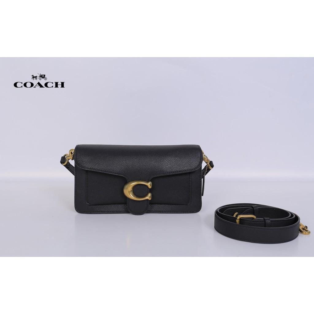 กระเป๋า coach ของแท้ กระเป๋า coach ผู้หญิง Coach Tabby กระเป๋า coach สีดำลายc