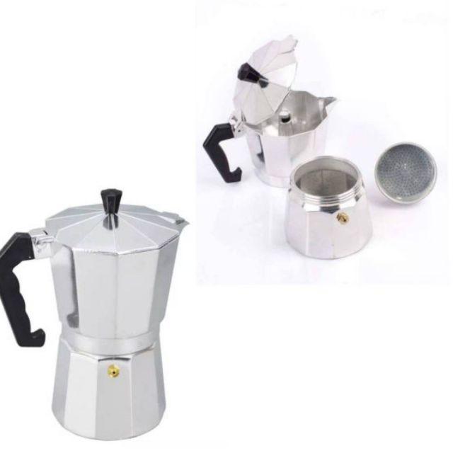 ShopE เครื่องชงกาแฟ หม้อต้มกาแฟสด(มีสินค้าพร้อมส่งค่ะ)ช เครื่องทำกาแฟ เครื่องต้มกาแฟ กาแฟสด