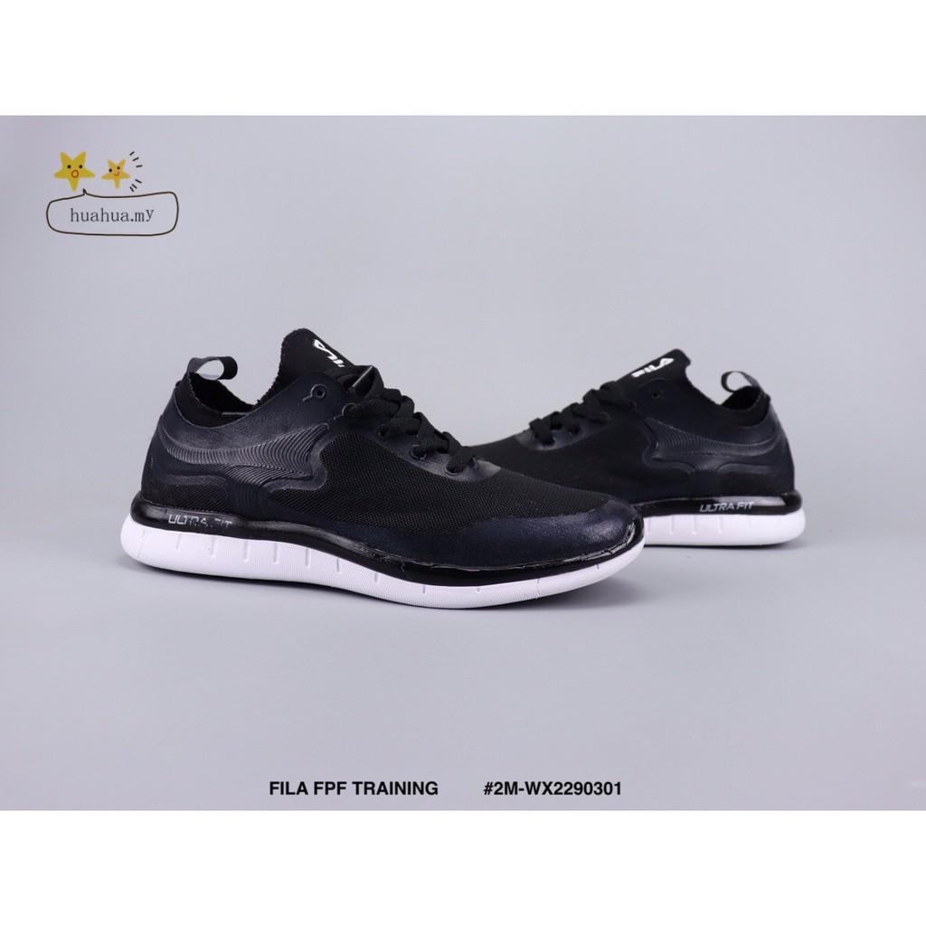 Fila fpf รองเท้าวิ่งสีดำ