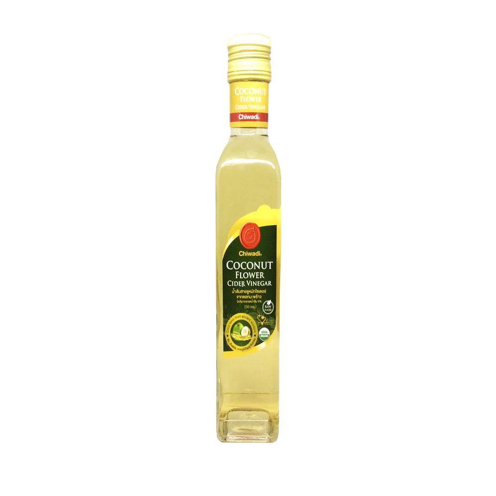 Organic Pavilion น้ำส้มสายชูหมักจากดอกมะพร้าวอินทรีย์ Coconut Flower Cider Vinegar Chiwadi (250ml)