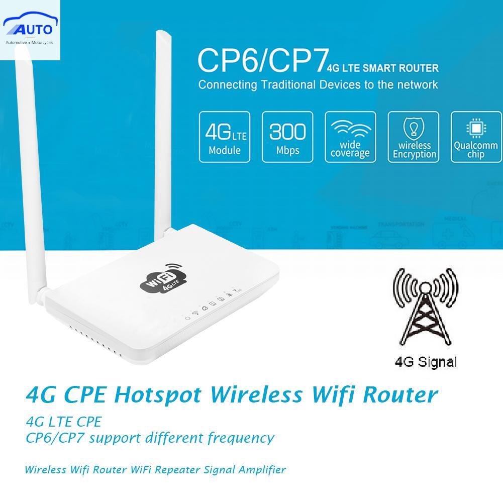 300 mbps 4 g cpe hotspot อุปกรณ์เราน์เตอร์เชื่อมต่อสัญญาณ wifi แบบไร้สาย (itec)