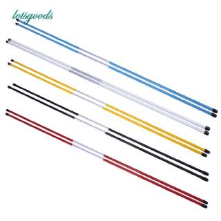 ❦Ready Stock❦ 2pcs Golf Alignment Sticks Swing Tour Trainer Rod Ball Striking Aid
